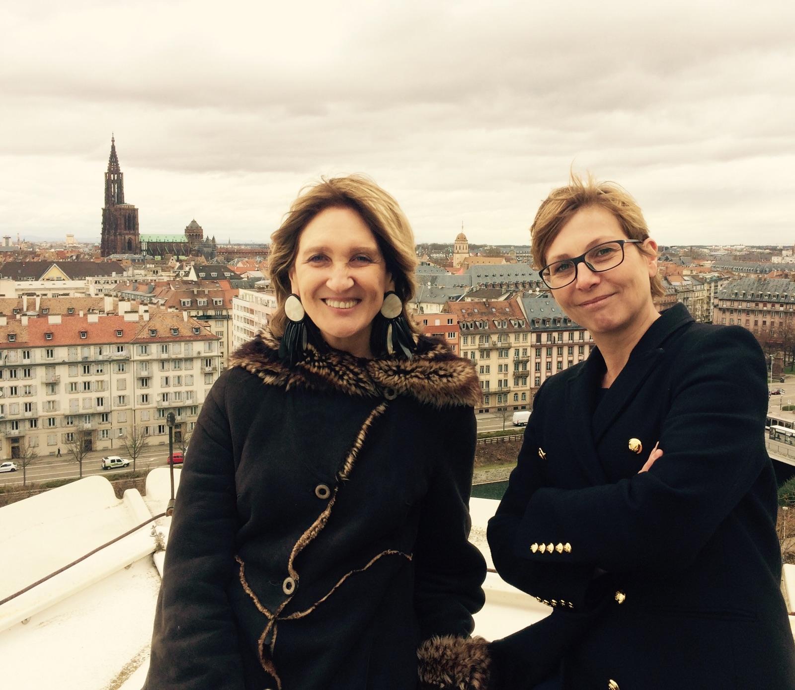 Elisabeth Toutut-Picard et Christel Kohler