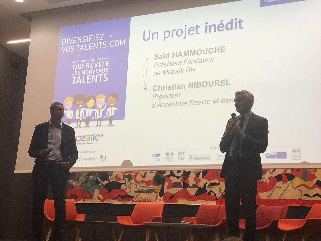 lancement de  u0026quot diversifiez vos talents com u0026quot   premi u00e8re